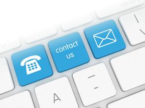 Neem contact met ons op.