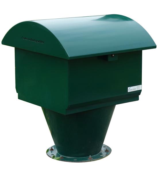 ENTEC® HC70 | Het meest herkenbare geurfilter: de paddenstoel vorm.